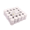 unscented tealights, 8hrs, 50 pieces