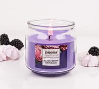 Kerzen im Bonbonglas