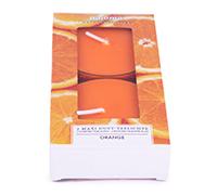 2er Maxi Teelichte - Polycarbonat Hülle